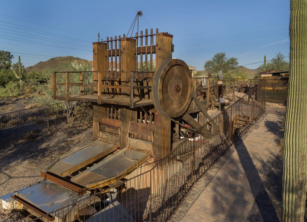 Cave Creek Museum's Golden Reef Stamp Mill
