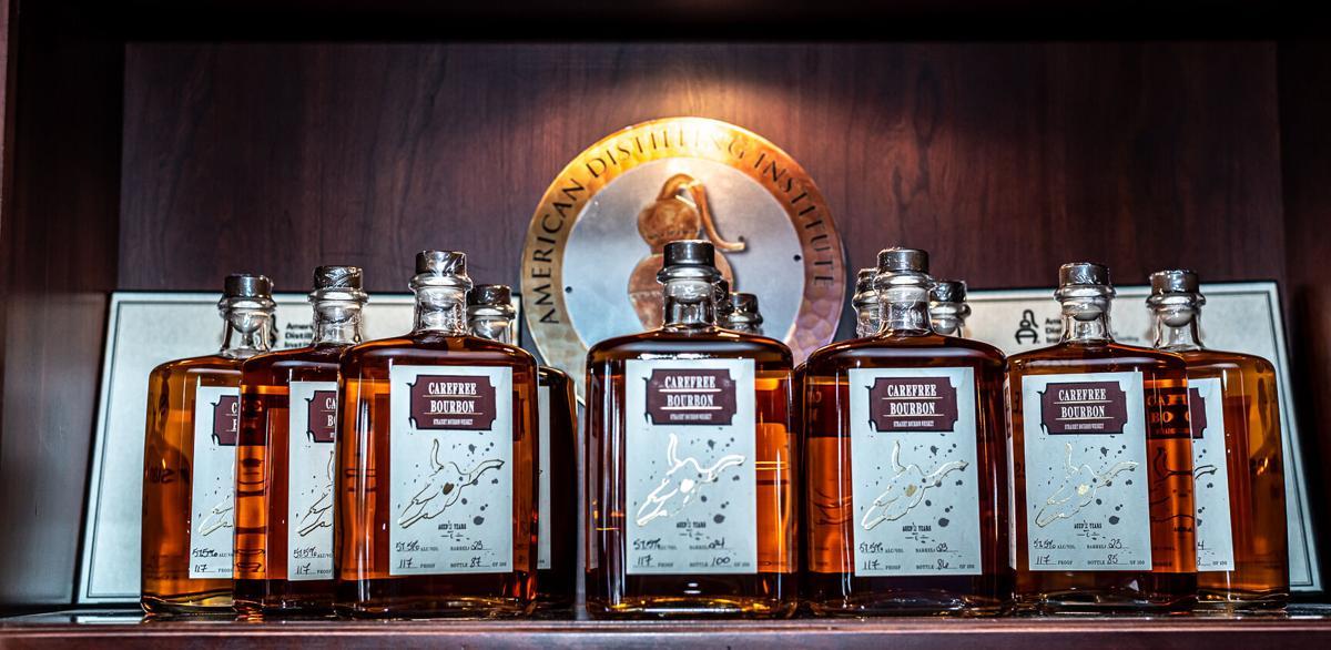 Carefree Spirits Distillery bourbon