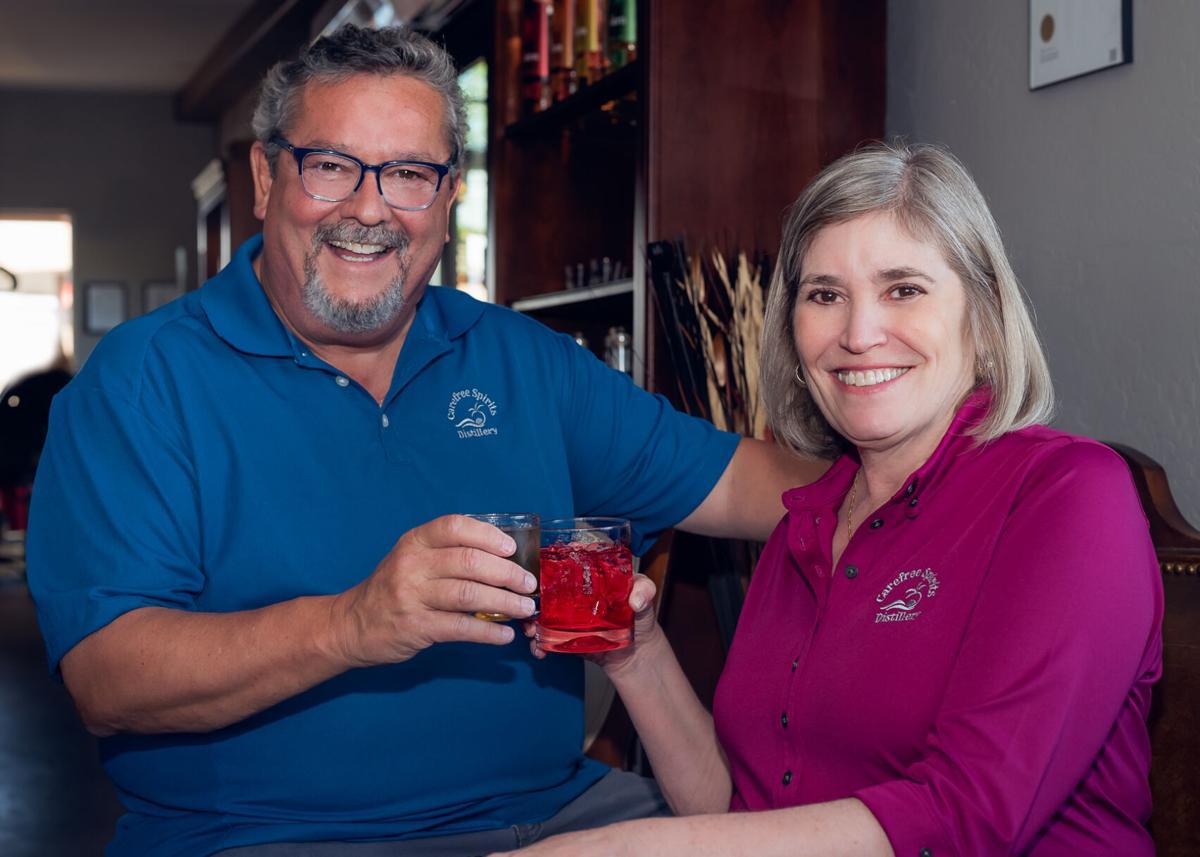 Carefree Spirits Distillery, Mike McQuiggan, Renea McQuiggan