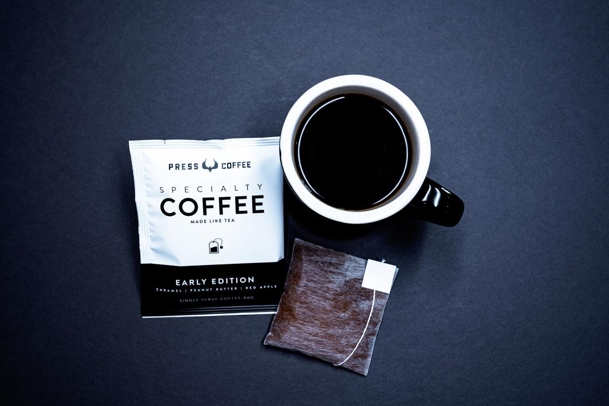 Early Edition single serve coffee bags are available from Press Coffee