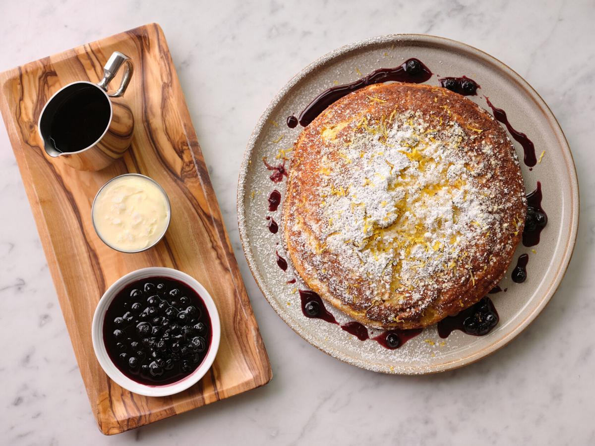 Lemon Ricotta Pancake from Francine