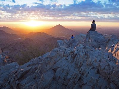 Piestewa Peak at Sunrise