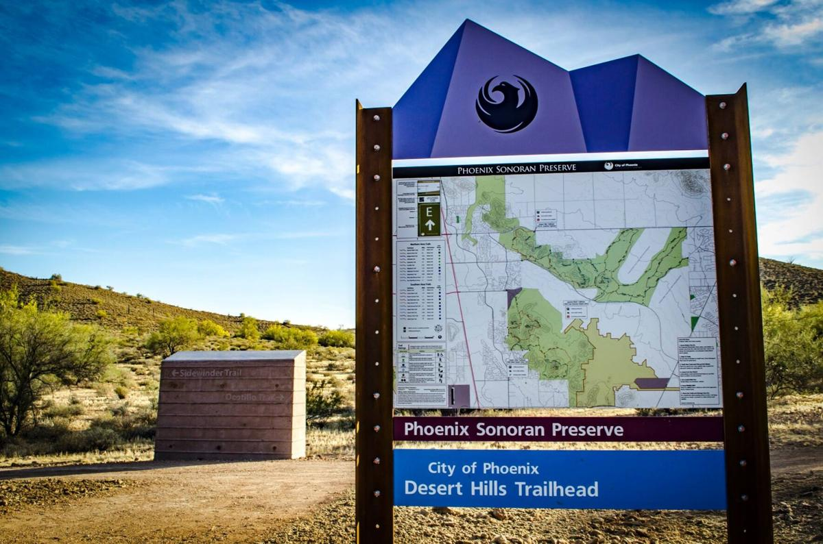 Sonoran Preserve Desert HillsTrailhead