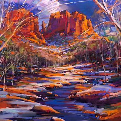 "Michael McKee, ""Winter Cathedral"""