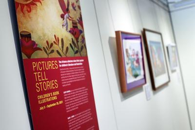 Pictures Tell Stories - Childrens Book Illustrations -- Scottsdale Arts photo 01.jpg