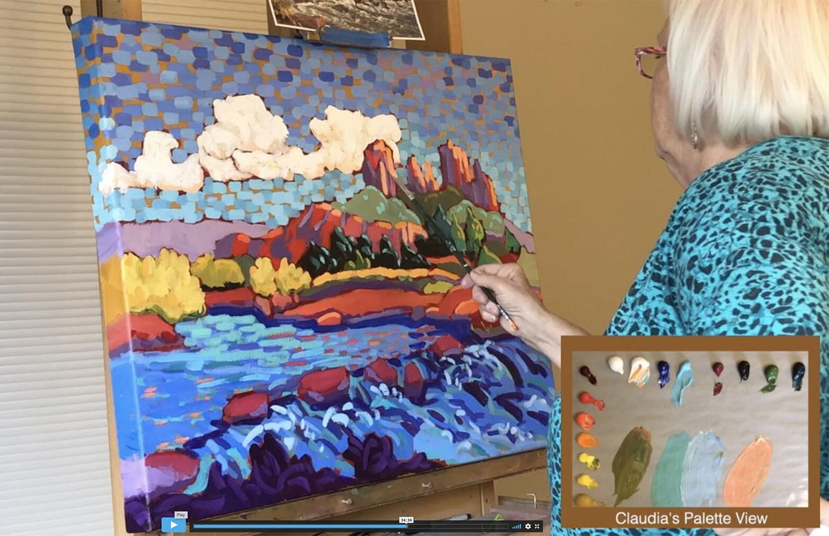 Scottsdale Artists School Claudia Hartley painting