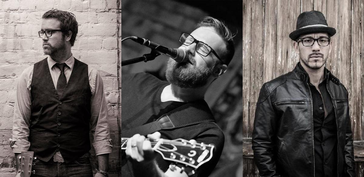 Singer-songwriters in the round: Brian Chartrand, Obadiah Parker and Miguel Melgoza