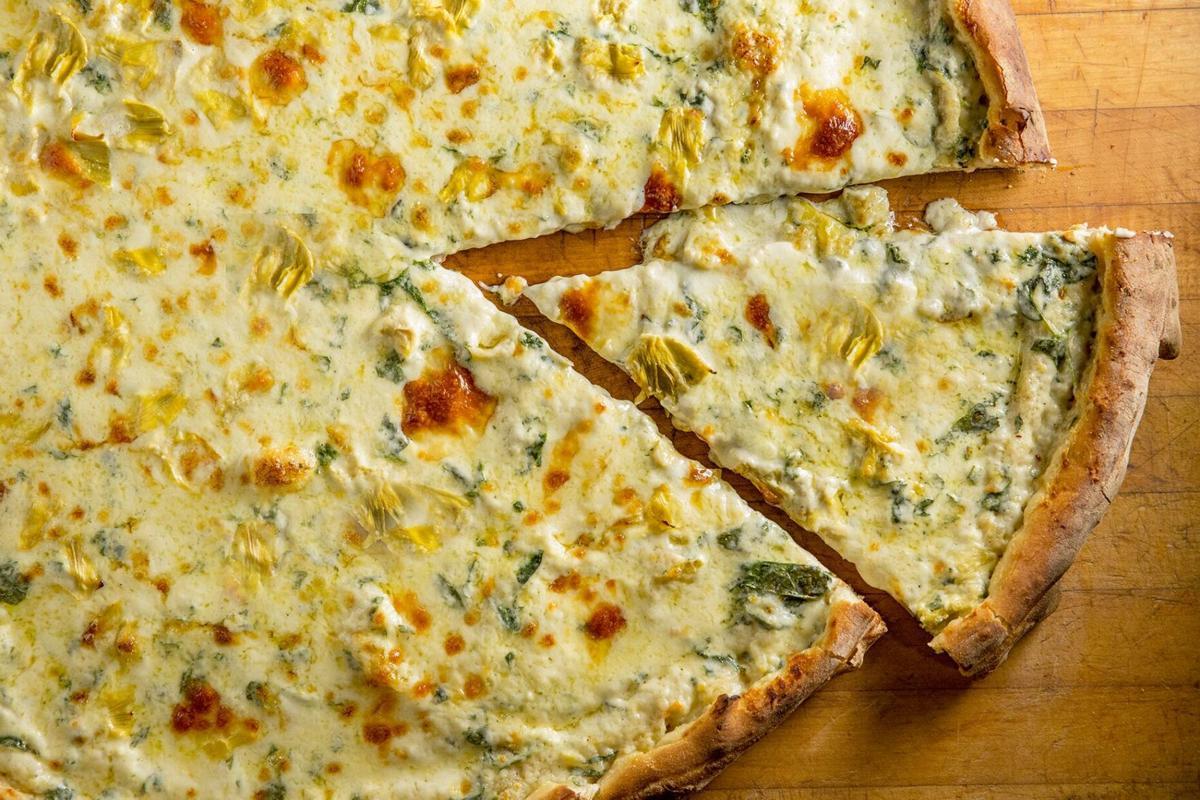 Artichoke Basille's Pizza Artichoke Pie