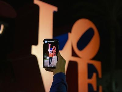 LOVE by Robert Indiana with AR
