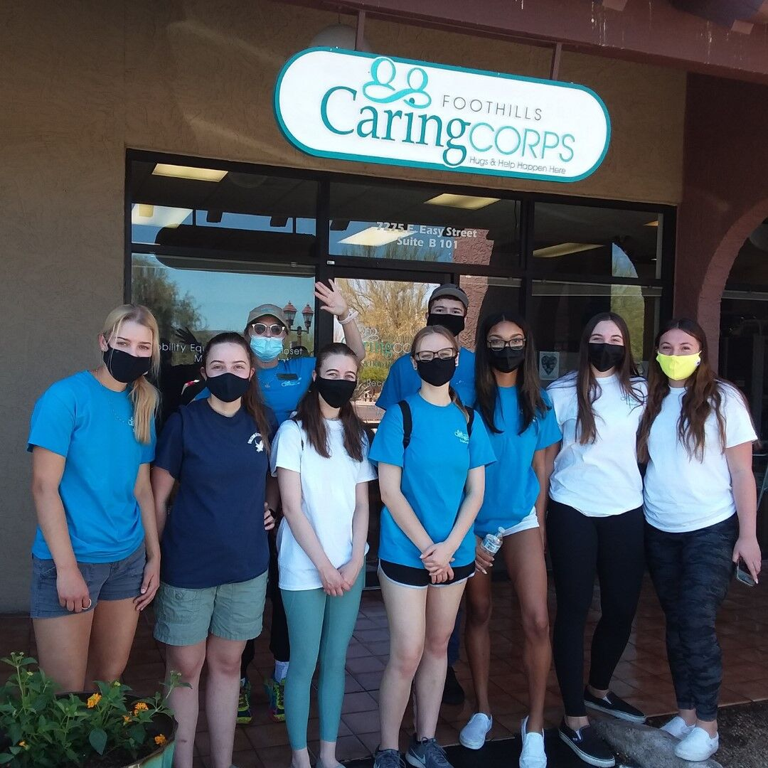 Caring Corps Cleaning group photo