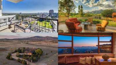 Four properties with a view