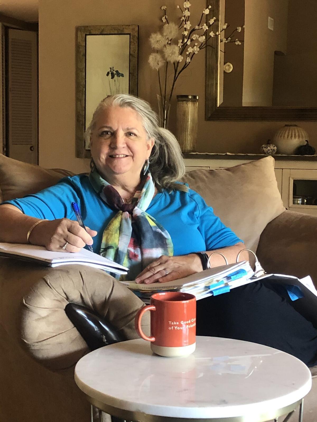 Hospice of the Valley volunteer Belinda Brown
