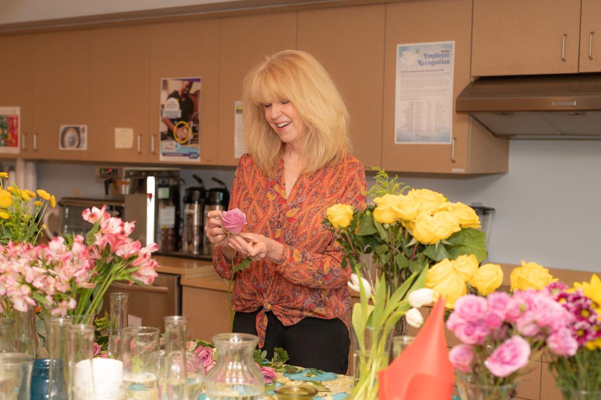 Hospice of the Valley volunteer Jennifer Bortz