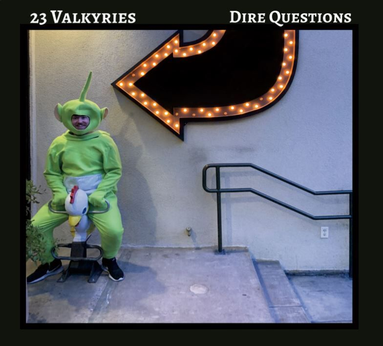 Dire Questions EP Cover