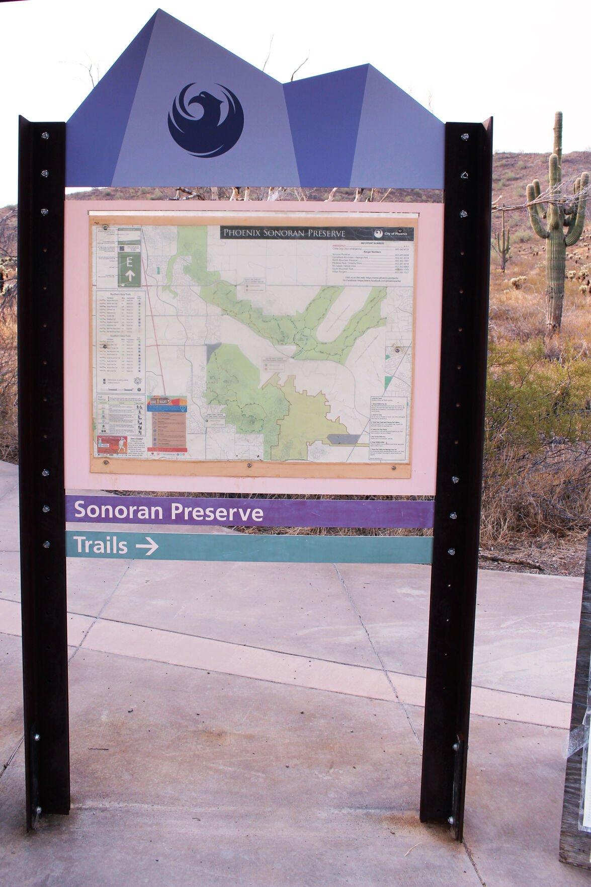 Apache Wash Trailhead Sonoran Preserve