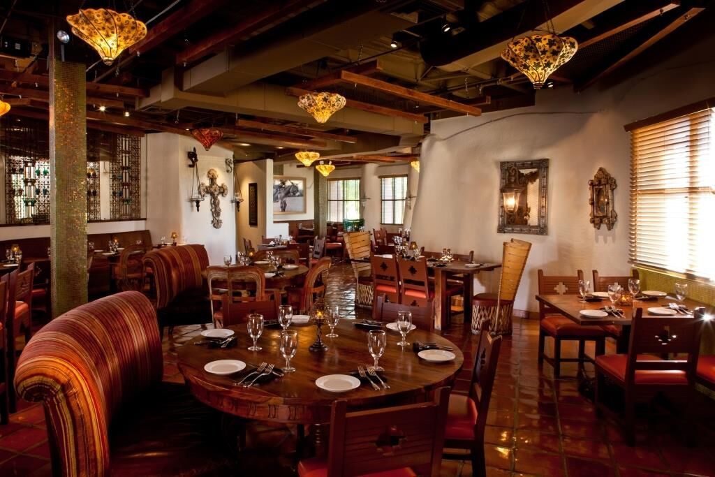 Inside The Spotted Donkey Cantina at El Pedregal