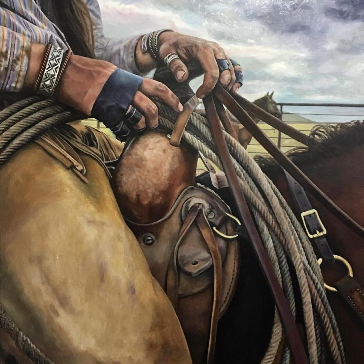 Working Hands by Susan Hartenhoff