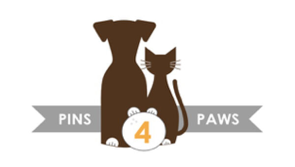Pins and Paws logo