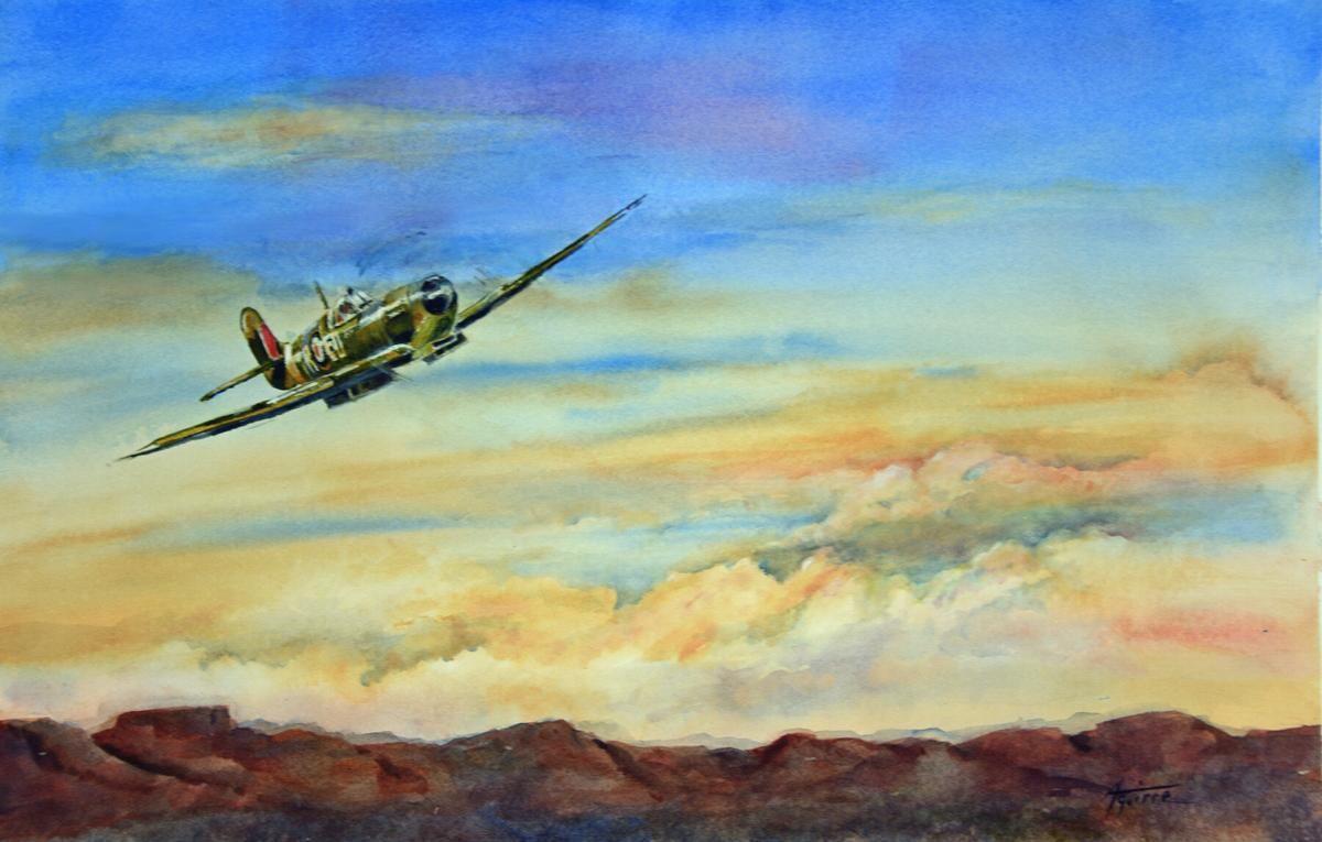 Spitfire Departure - Betsy Aguirre
