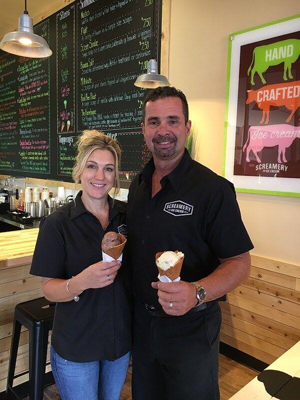 Owners Linda and Kenny Sarnoski