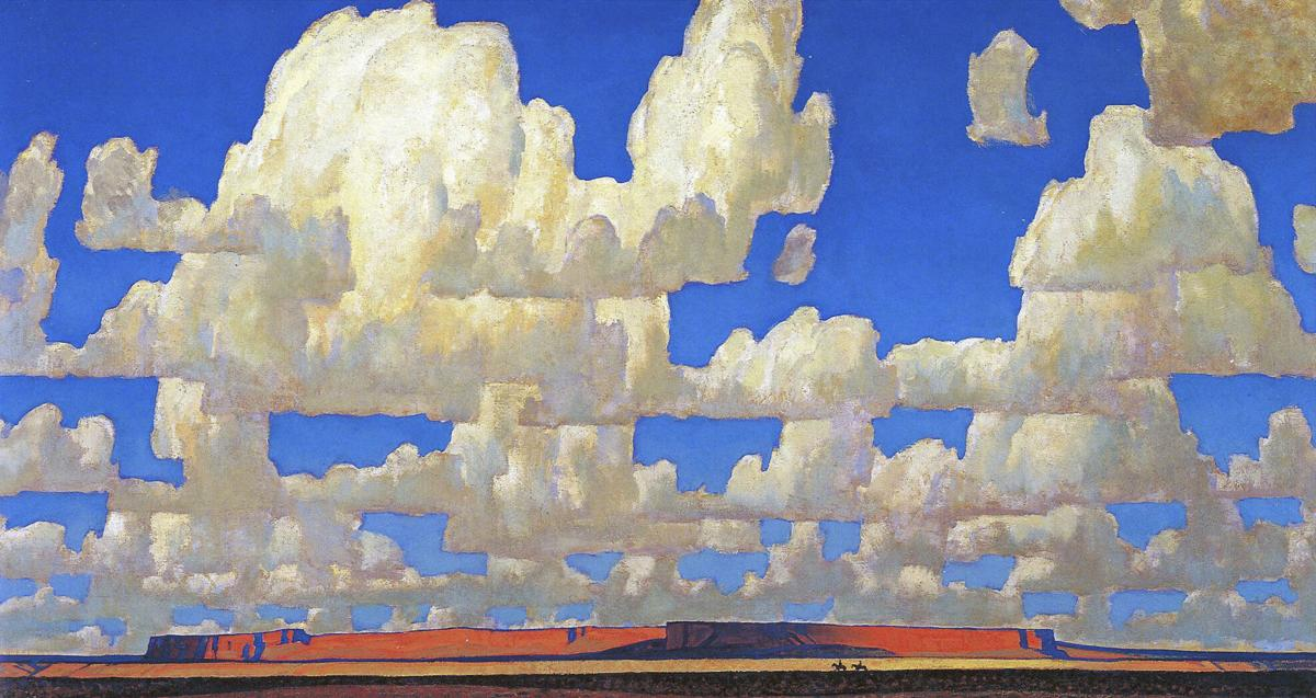 Scottsdale Museum of the West - Cloud World (1925) Maynard Dixon