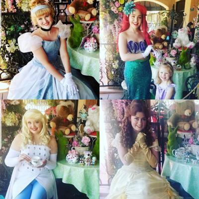 English Rose Tea Room Tea with a Princess