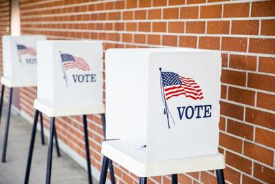 Voting booths image