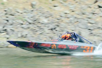 Jet boat race photo