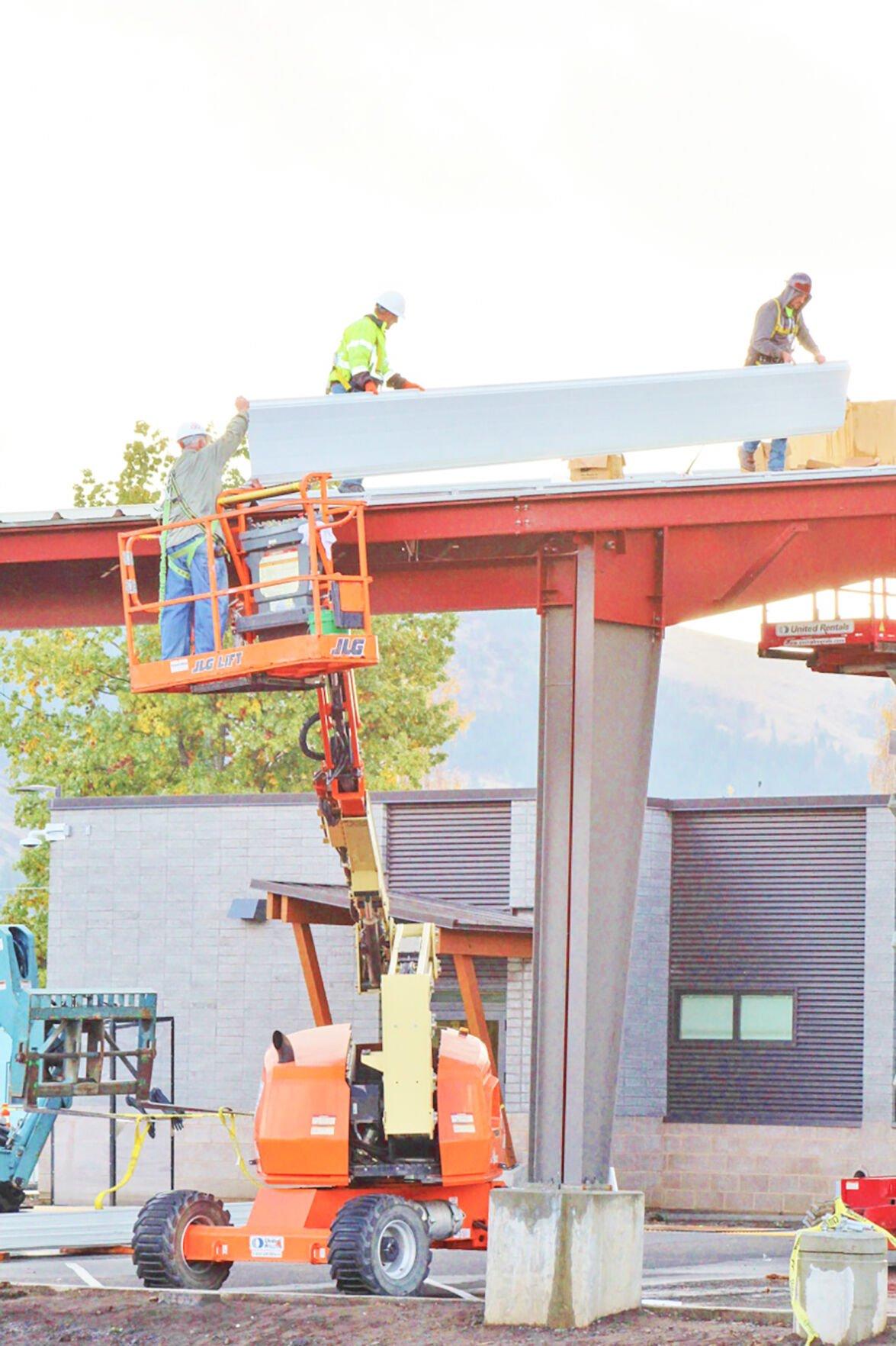 St. Mary's Kamiah Clinic construction photo