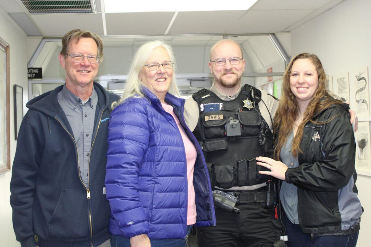 Daniel Davis and family photo