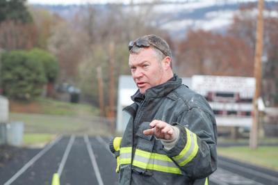 Kamiah Fire Chief Bill Arsenault photo