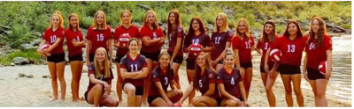 Rams Volleyball team photo