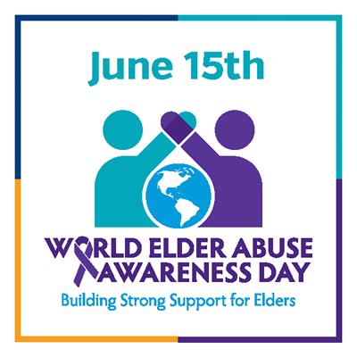 World Elder Abuse Awareness Day graphic