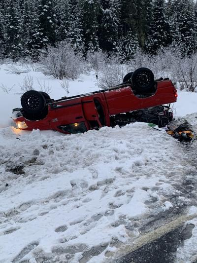 Vehicle rollover photo