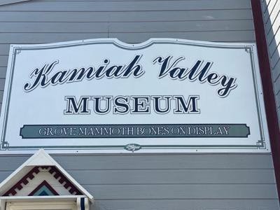 Kamiah Valley Museum sign photo