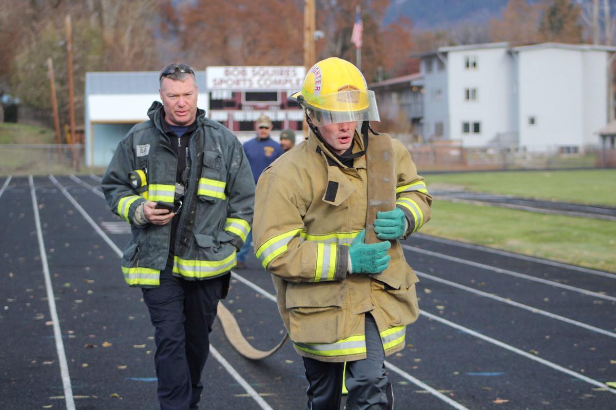 Fire EMS applicants test photo 1
