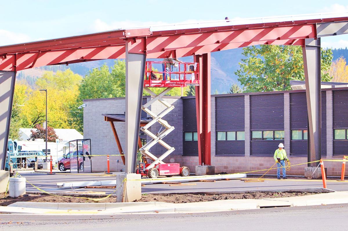 St. Mary's Kamiah Clinic construction photo 1