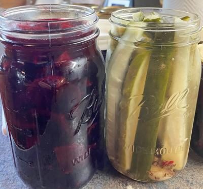Pickled beets photo