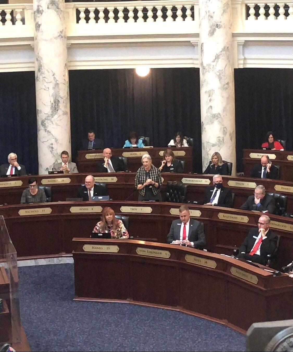 Idaho legislature photo