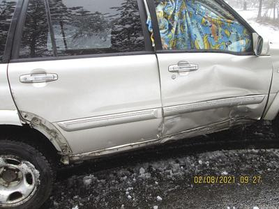 Non-injury vehicle accident 02-17-21