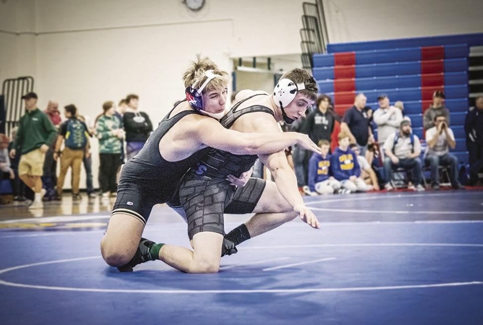 Wrestling - Clay Larsen Senior 182 lbs