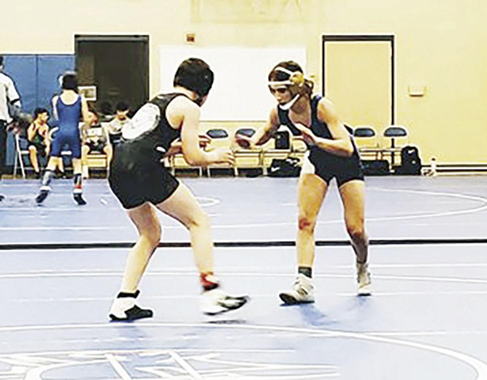 Wrestling JR High --Lindi Kessinger