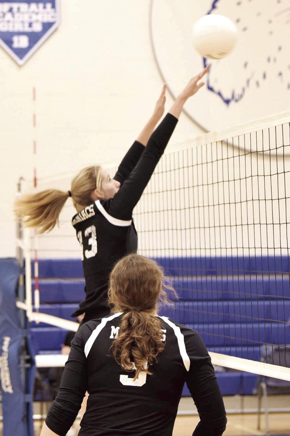 OHS volleyball--Grace Beardin
