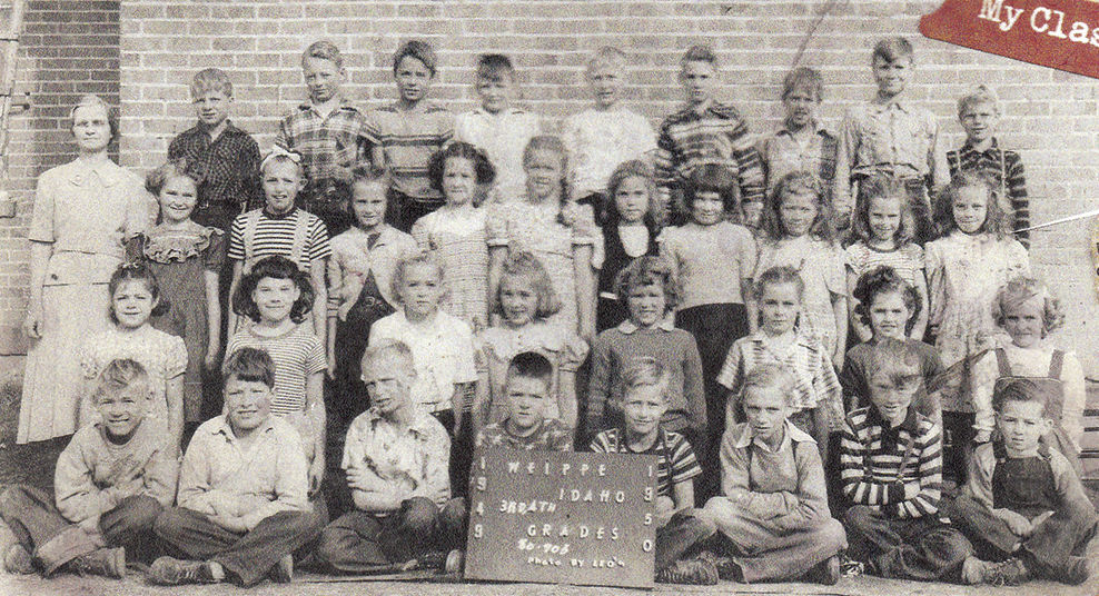 Savvy Senior -- 05-12-16 Weippe Elementary 1949-50
