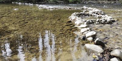 Selway river at Macgruder