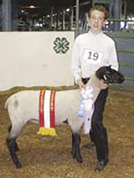 Allen Rowan--2008  Reserve Market Lamb