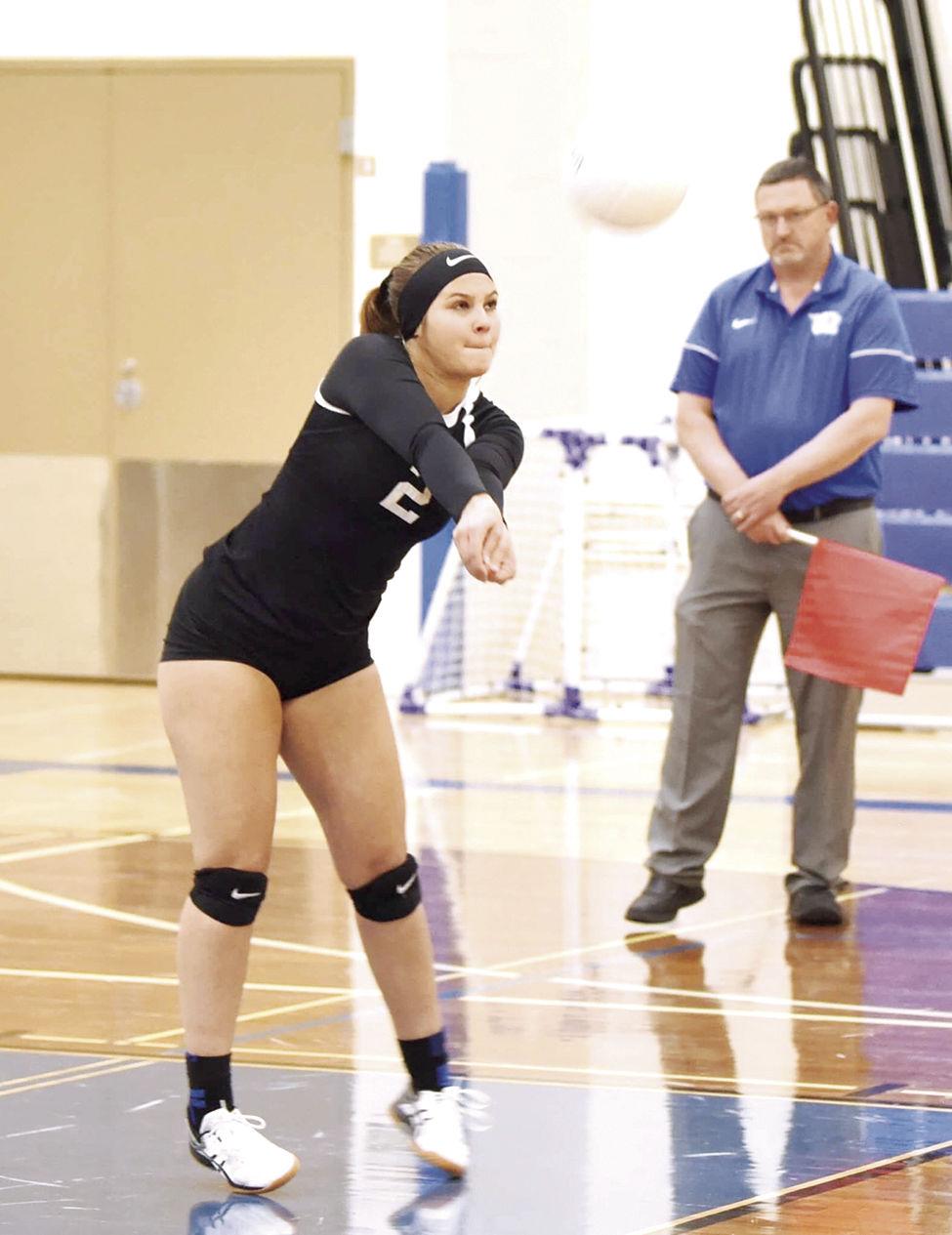 OHS volleyball--Jenna Johnson