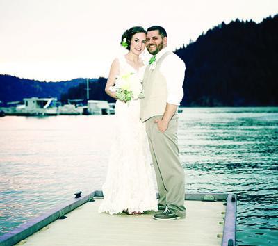 Hanna Kehlet and Cody Delgado