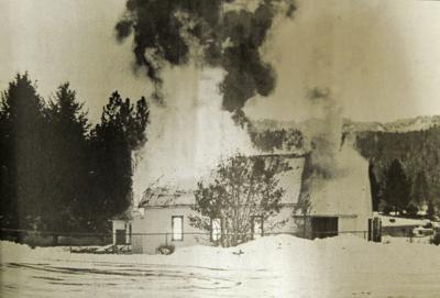 Down Memory Lane - Ahsahka Church fire