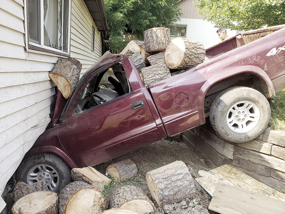 Michigan Avenue vehicle wreck I